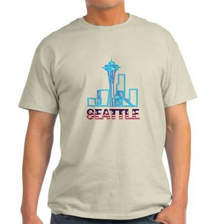 Seattle Space Needle Light T-Shirt
