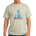Seattle Space Needle Light T-Shirt