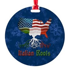 Italian American Roots Christmas Ornament