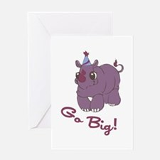 Go Big! Greeting Cards