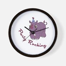 Party Rocking Wall Clock