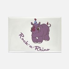 Rock-a-Rhino Magnets
