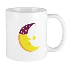 Sleepy Moon Mugs