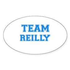 TEAM REILLY Oval Decal