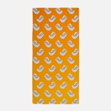 Peace Doves in Sunshine Beach Towel