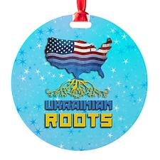 Ukrainian American Christmas Ornament