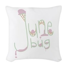 June Bug Woven Throw Pillow