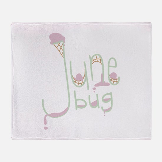 June Bug Throw Blanket