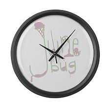 June Bug Large Wall Clock
