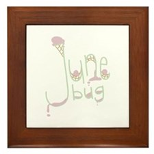 June Bug Framed Tile