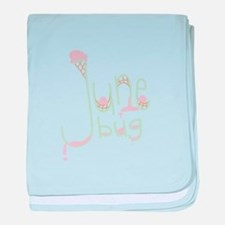 June Bug baby blanket