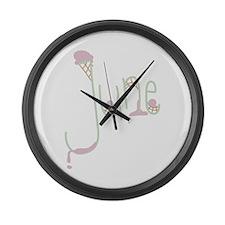 June Large Wall Clock