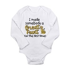 Great Aunt Long Sleeve Infant Bodysuit