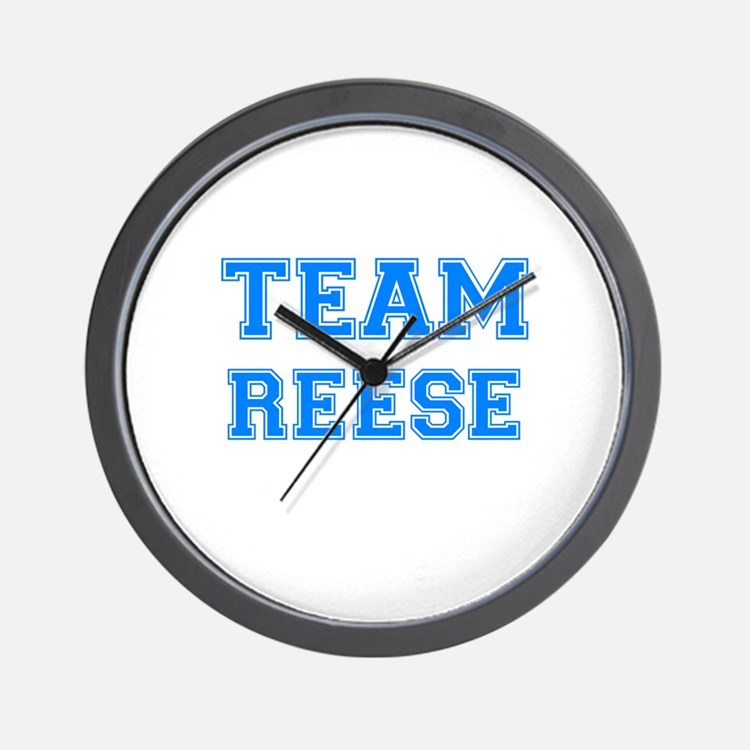 TEAM REESE Wall Clock