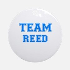 TEAM REED Ornament (Round)