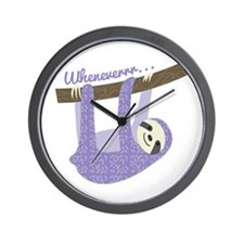 When Ever Wall Clock