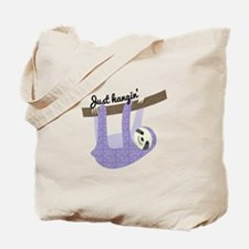Just Hangin Tote Bag