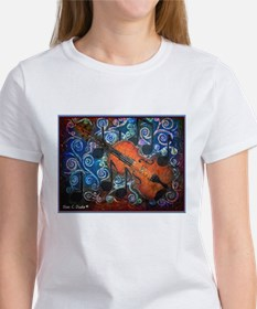 Fiddle-NO WORDING<br> Tee