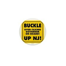 Buckle Up NJ! Mini Button