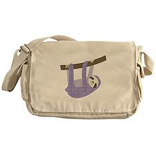 Tree Sloth Messenger Bag