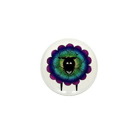 Unique Sheep Mini Button
