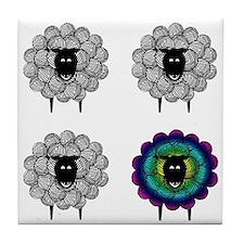 Unique Sheep Tile Coaster