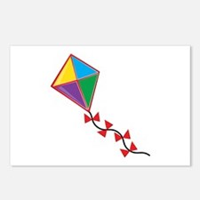 Colorful Kite Postcards (Package of 8)
