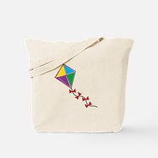 Colorful Kite Tote Bag