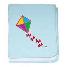 Colorful Kite baby blanket