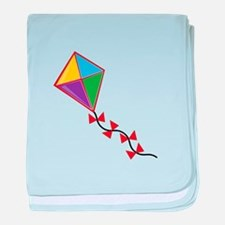 Colorful Kite baby blanket
