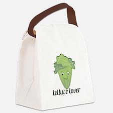 Lettuce Lover Canvas Lunch Bag