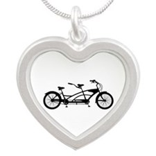 Tandem Bike Necklaces