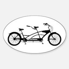 Tandem Bike Decal