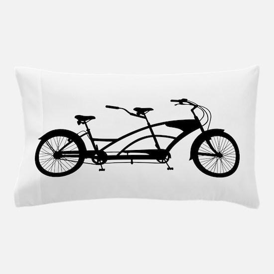 Tandem Bike Pillow Case