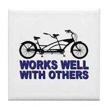 Works Wel with others Tile Coaster