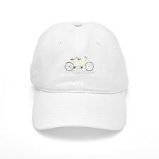 Tandem Bicycle Baseball Baseball Baseball Cap