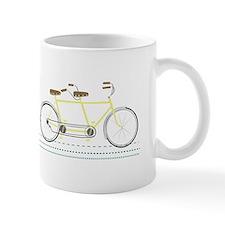 Tandem Bicycle Mugs