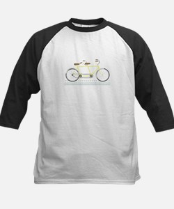 Tandem Bicycle Baseball Jersey