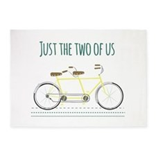 Just the two of us 5'x7'Area Rug