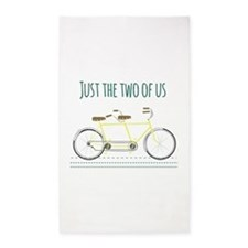 Just the two of us 3'x5' Area Rug