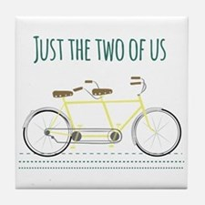 Just the two of us Tile Coaster