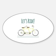 Lets Ride Decal
