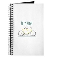 Lets Ride Journal