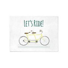 Lets Ride 5'x7'Area Rug