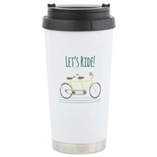 Lets Ride Travel Mug