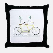 You Me Throw Pillow