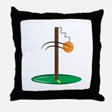 Tetherball Throw Pillow