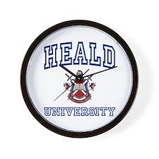 HEALD University Wall Clock