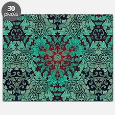 rustic bohemian damask pattern  Puzzle