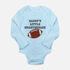 Daddy's Quarterback Long Sleeve Infant Body Suit